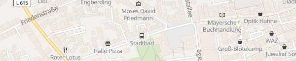 Karte ELE Center Gladbeck