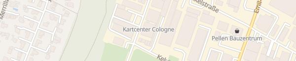 Karte Kartcenter Cologne Köln