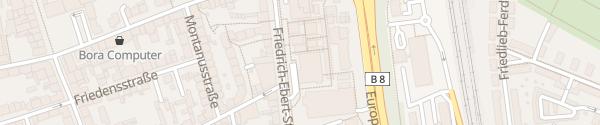 Karte APCOA City-Center Parkhaus Leverkusen