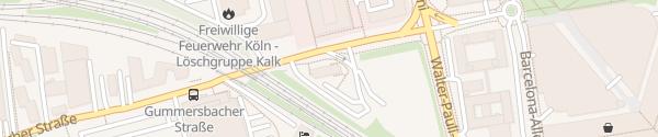 Karte B&B Hotel Köln Messe Köln