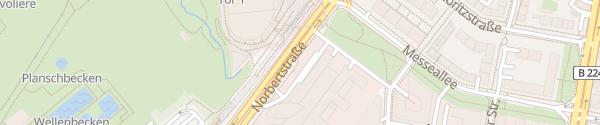 Karte E.ON Service Essen
