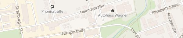 Karte Autohaus Katzner Gladbeck