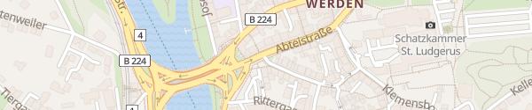 Karte Abteistraße Essen