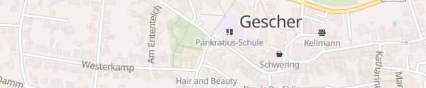 Karte Lindenstraße Gescher