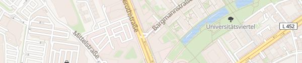 Karte Bargmannstraße Essen