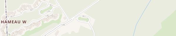 Karte Center Parcs Les Trois Forêts - Parking X Hattigny
