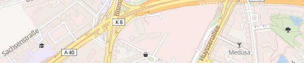 Karte Kruppstraße Essen