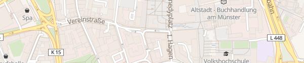 Karte Motel One Essen