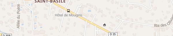 Karte Supercharger Hôtel de Mougins Mougins