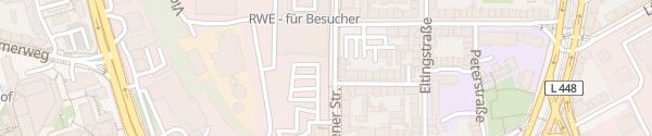 Karte RWE-Betriebsgelände Essen