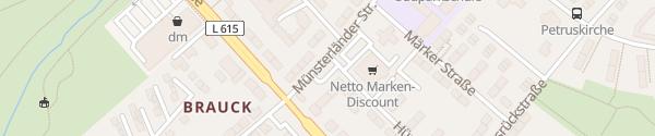 Karte Rosenhügel Markt Gladbeck