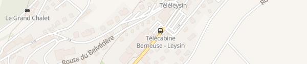 Karte Centre Sportif de la Piscine Leysin