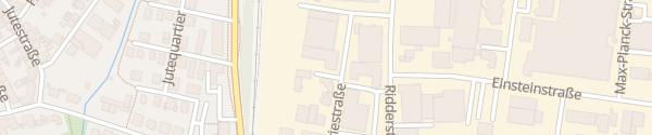 Karte Industriestraße Ahaus
