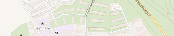 Karte Stegemannsweg Gelsenkirchen
