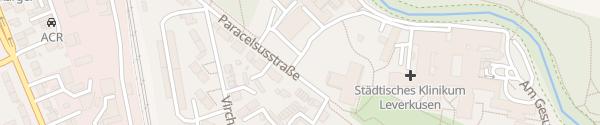 Karte Klinikum Leverkusen