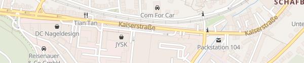 Karte BMW Niederlassung Saarbrücken
