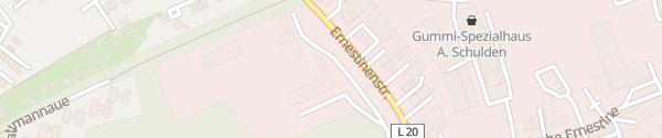 Karte innogy Ernestinenstraße Essen
