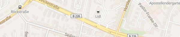 Karte Lidl Gelsenkirchen-Buer Gelsenkirchen