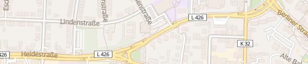Karte Akazienstraße Velbert