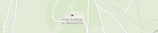 Karte Auberge du Mehrbächel Saint-Amarin