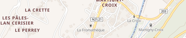 Karte Move Ladesäule Martigny