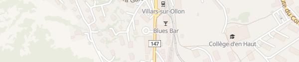 Karte Parking du Centenaire Villars-sur-Ollon