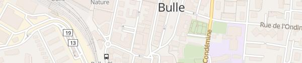 Karte Grand-Rue Bulle