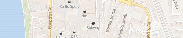 Karte Parkhaus City Center Porz Köln