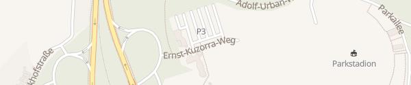 Karte Geschäftsstelle S04 Gelsenkirchen