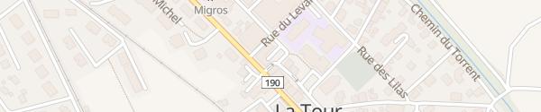 Karte Banque Raiffeisen Moléson La Tour-de-Trême