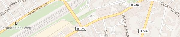 Karte Vohwinkeler Straße Wuppertal