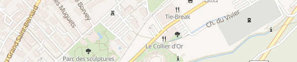 Karte Barryland Martigny