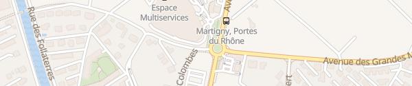 Karte Centre Cristal Martigny