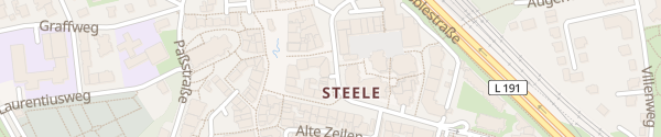 Karte Humannstraße Essen