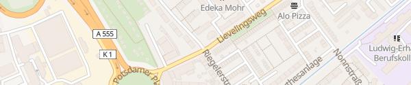 Karte Parkplatz Mackestraße Bonn