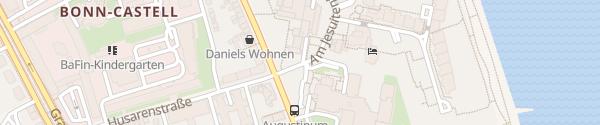 Karte Am Jesuitenhof Bonn