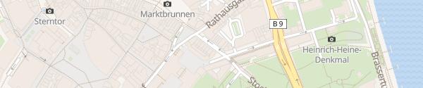 Karte Marktgarage Bonn