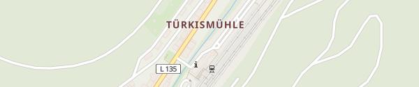 Karte Bahnhof Türkismühle