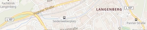 Karte Parkplatz Bürgerhaus Velbert