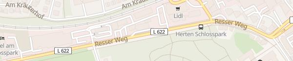 Karte Markant Tankstelle Herten
