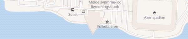 Karte Scandic Hotel Seilet Molde