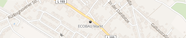 Karte Königswinterer Straße Bonn
