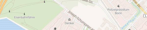 Karte Joseph Schumpter Allee Bonn