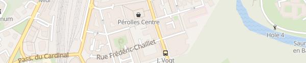 Karte MOVE Ladesäule Fribourg