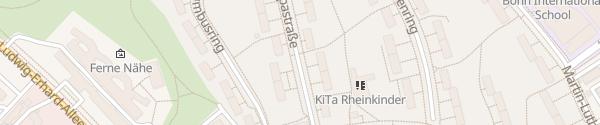 Karte Amerikanische Siedlung Plittersdorf Bonn