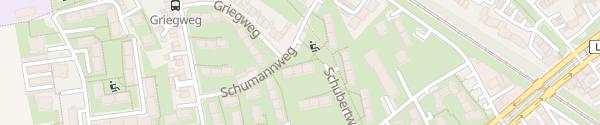 Karte Schubertweg Bochum