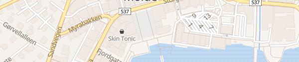 Karte Rathaus Molde