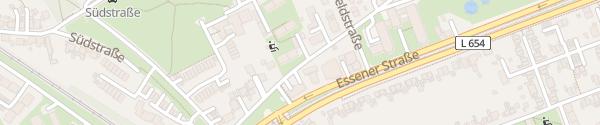 Karte Am Hottenborn Bochum