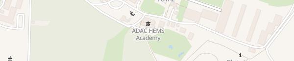 Karte ADAC HEMS Academy Sankt Augustin