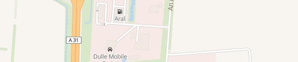 Karte McDonald's Haren (Ems)
